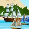 لعبة حرب سفينة القراصنة