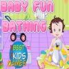لعبة حمام الطفل