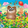 لعبة بازل الدب في الغابة