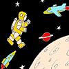 تلوين رائد الفضاء