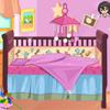 لعبة ديكور سرير الطفلة