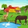 لعبة البحث عن الاختلافات في المزرعة
