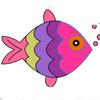 تلوين الأسماك
