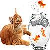 لعبة بازل صورة القطة و السمك