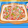عمل البيتزا الساخنة