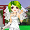 لعبة تلبيس فستان الزفاف