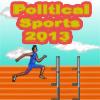 Political Sports: Obama Hurdle Runner