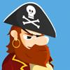 لعبة القرصان و الصناديق