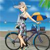 تلبيس فتاة الدراجة