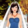 فستان زفاف الخريف