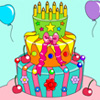 كعكة عيد ميلاد تلوين