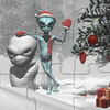 عيد الميلاد بانوراما الغريبة
