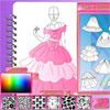 تصميم فستان الأميرة