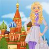 فتاة يزور موسكو